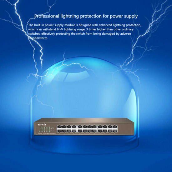 Tenda TEG1024D 24 Ports Gigabit Ethernet Switch