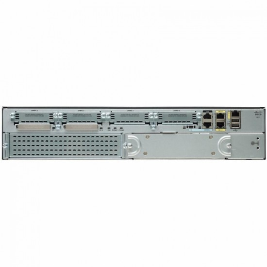 Cisco 2911 Voice Bundle w PVDM3 16,FL CME-SRST 25,UC Lic,FL    CUBE10